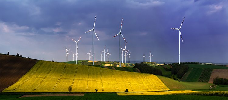 Wind-power-plant