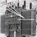 lightning_arresters_on_power_transformer